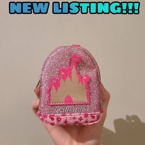 DISNEY PARKS CASTLE COIN BACKPACK POUCH
